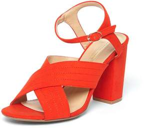Dorothy Perkins Orange 'Spring' Cross Over Sandals