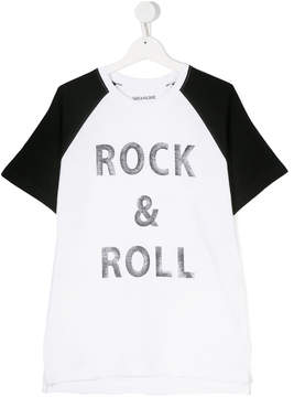 Zadig & Voltaire Kids TEEN Rock & Roll T-shirt