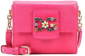 Dolce & Gabbana Millennials Mini leather shoulder bag