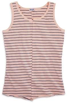 Splendid Girls' Distressed Striped Tank - Big Kid