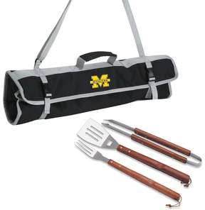 NCAA Michigan Wolverines 4-pc. Barbecue Tote Set
