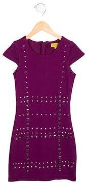 Nicole Miller Girls' Embellished Cap Sleeve Dress w/ Tags