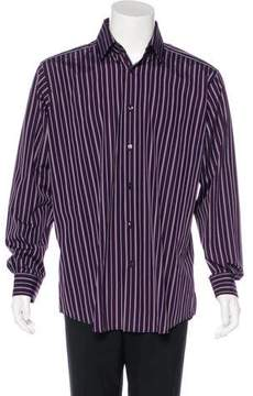 Hermes Striped Woven Shirt w/ Tags