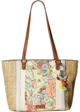 Sakroots Artist Circle Medium Satchel Satchel Handbags