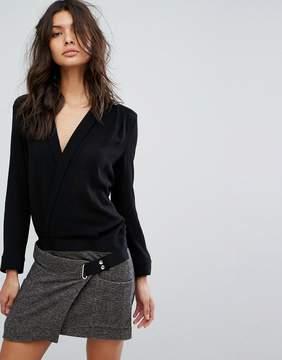 BA&SH Contrast Top and Skirt Dress