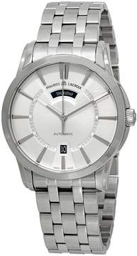 Maurice Lacroix Pontos Day/ Date Silver Dial Men's Watch