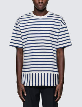 Public School Daryl Striped S/S T-Shirt