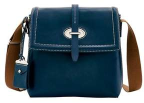 Dooney & Bourke Florentine Toscana Small Messenger Bag. - NAVY - STYLE