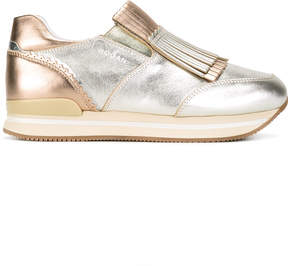 Hogan fringed sneakers