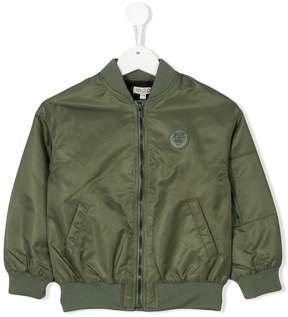 Kenzo logo plaque bomber jacket