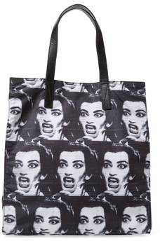 Marc Jacobs Byot Maria Callas Print NS Tote Bag - BLACK MULTI - STYLE