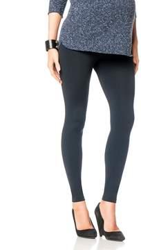 David Lerner Pea Collection Secret Fit Belly Maternity Leggings- Black