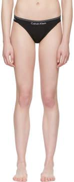 Calvin Klein Underwear Black Heritage Athletic Tanga Briefs
