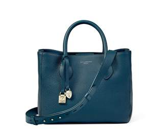 Aspinal of London Midi London Tote In Topaz Pebble
