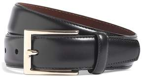 Brooks Brothers Gold Buckle Leather Dress Belt