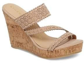 Athena Alexander Aerin Embellished Wedge Sandal