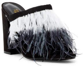 Liliana Glady Feather Mule