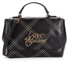 Love Moschino Contrast Stitch Shoulder Bag