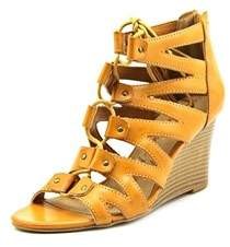 American Rag Women's Carter Wedge Lace Up Gladiator Sandals.