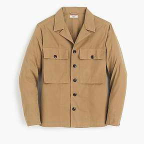 J.Crew Wallace & Barnes military jacket in khaki