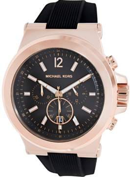 Michael Kors Men's MK8184 Dylan polyurethane Watch, 45mm