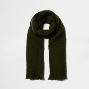 River Island Womens Khaki blanket scarf