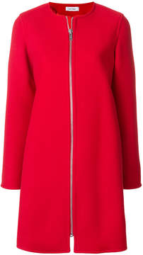 Courreges zipped fitted coat