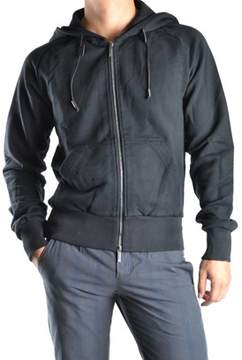 Galliano Men's Black Cotton Sweatshirt.