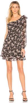 For Love & Lemons Theo One Shoulder Mini Dress