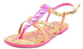 Sam Edelman Gemma Youth Open-toe Synthetic Pink Slingback Sandal.