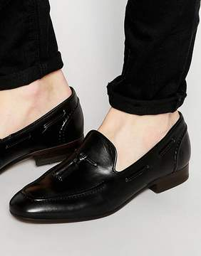 H By Hudson Pierre Leather Loafers
