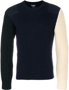 Calvin Klein contrast knit sweater