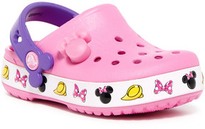Crocs Minnie Light-Up & Printed Band Clog (Toddler & Little Kid)