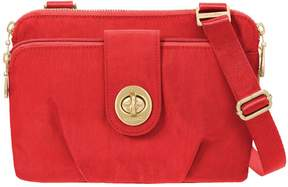 Baggallini Double Zip Crossbody - Toronto