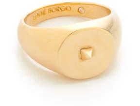 Eddie Borgo Mini Pyramid Pinky Signet Ring