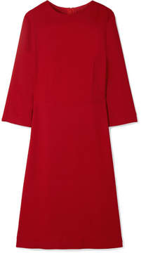 Mansur Gavriel Crepe Dress - Claret
