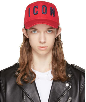 DSQUARED2 Red Icon Cap