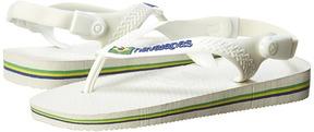 Havaianas Baby Brasil Logo Flip Flops (Toddler)