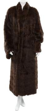 Christian Dior Knitted Sable Coat