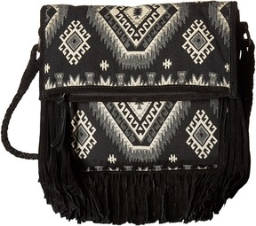 Scully Loretta Fringe Handbag Handbags