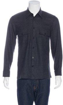 Marc Jacobs Wool Button-Up Shirt