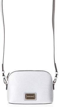 Emporio Armani Steel Eco Leather Shoulder Mini Bag