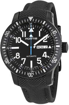Fortis Diver Automatic Black Dial Men's Watch