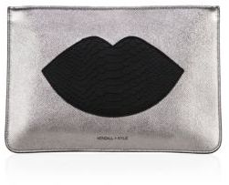 KENDALL + KYLIE Veronica Leather Clutch