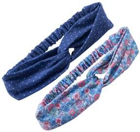Carter's Girls 4-6x 2-pk. Floral & Dot Headwraps