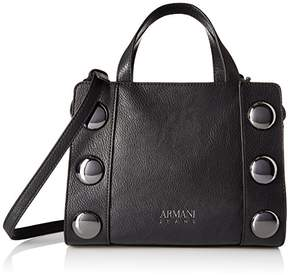 Armani Jeans Top Handle Large Studded Bag