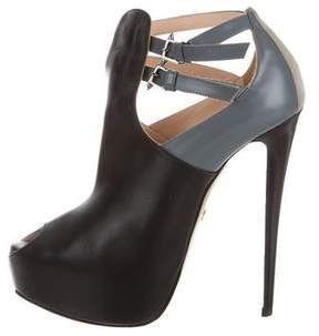 Ruthie Davis Penelope Platform Ankle Boots