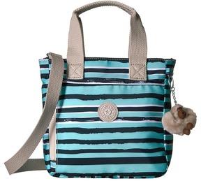 Kipling Alexios Print Cross Body Handbags - OCEAN BREEZE PURPLE - STYLE