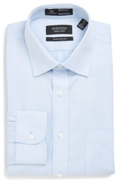 Nordstrom Men's Smartcare(TM) Traditional Fit Stripe Dress Shirt