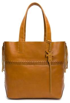 Frye Carson Whipstitch Calfskin Leather Tote